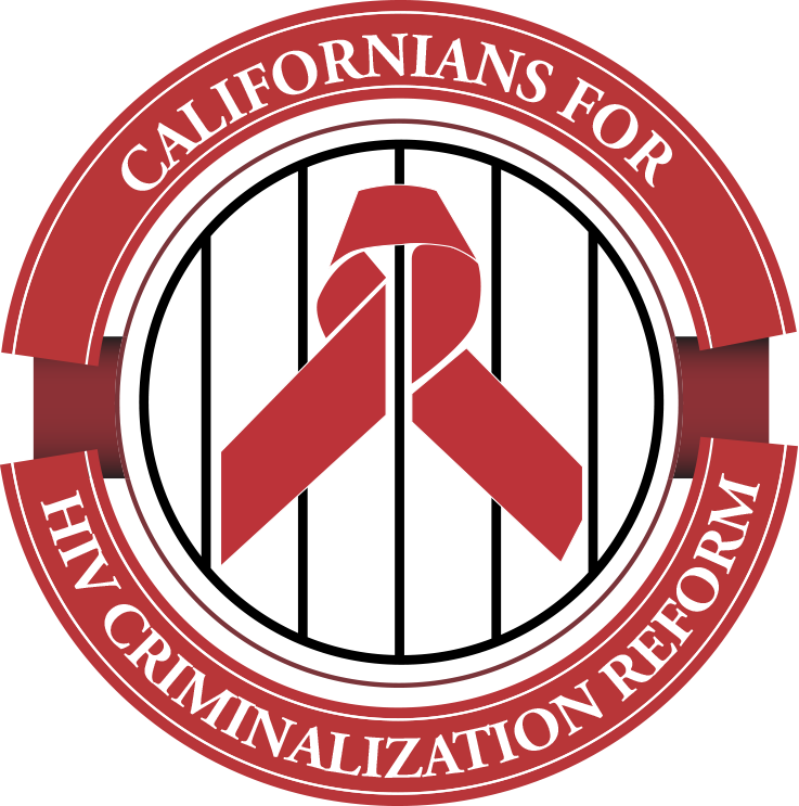 Californians for HIV Criminalization Reform Logo
